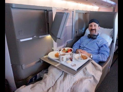British Airways A380 Club World seat tour