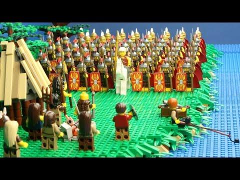 Lego veldslag Julius Caesar in Kessel Nederland