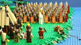 Lego veldslag Julius Caesar in Kessel Nederland thumbnail