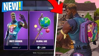 *NEW* BRITE GUNNER outfit GAMEPLAY in Fortnite Battle Royale | *NEW* SKINS