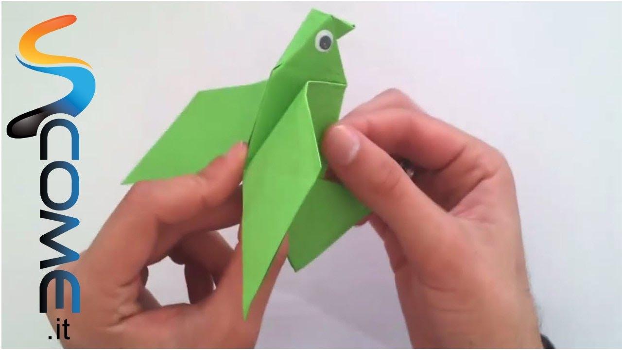 Creare Un Uccello Di Carta