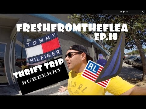 THRIFT TRIP EP.18 POLO SPORT,BURBERRY,TOMMY,NAUTICA!