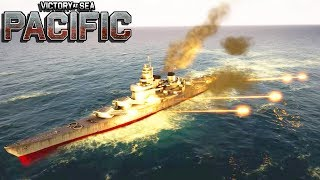 NEW NAVAL WARFARE WWII Strategy, Carriers, Battleships, Fleet Battles | Victory at Sea Pacific