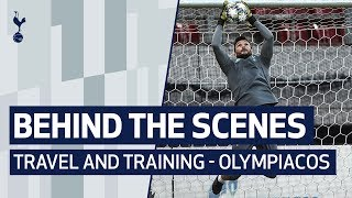 BEHIND THE SCENES | SPURS TRAVEL TO GREECE AND TRAIN AT OLYMPIACOS