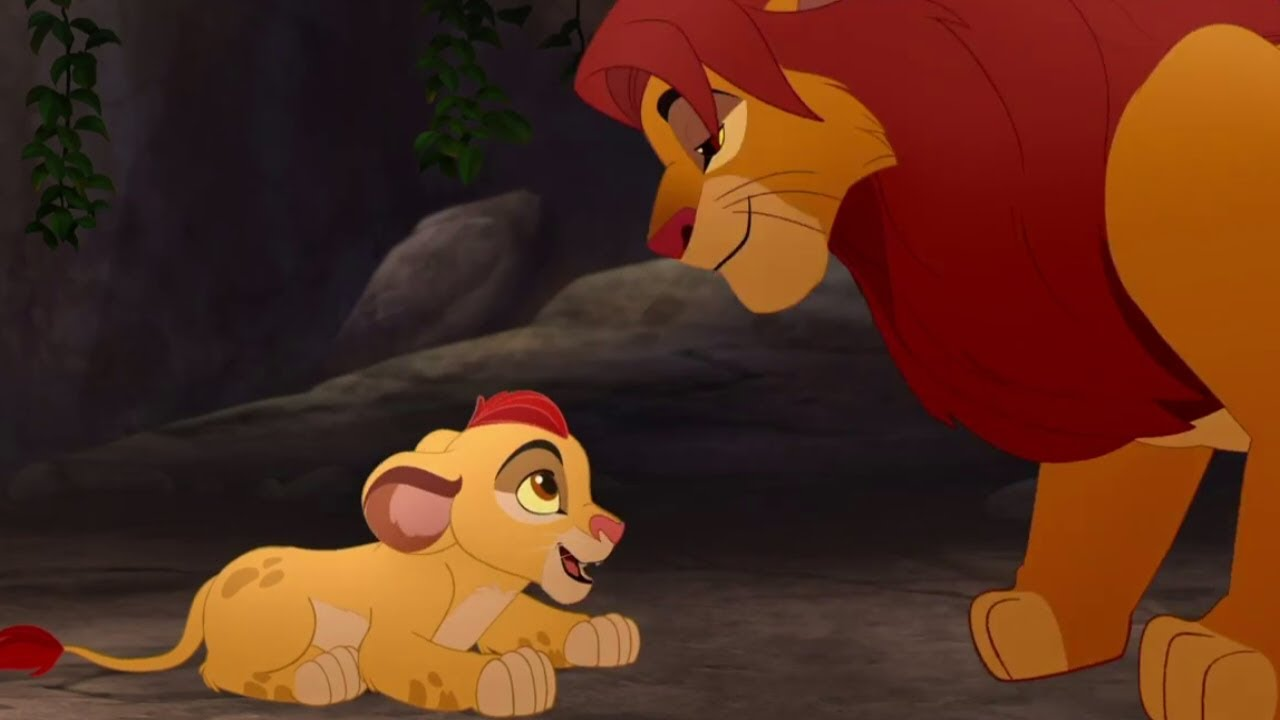 Lion Guard Path Of Honor Feat Baby Kion  The Rise Of -1190