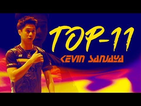 11 Artistry Skills by Kevin Sanjaya Sukamuljo | The Magician - Skills & Rallies | God of Sports