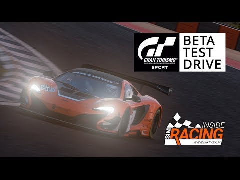 Gran Turismo Sport Beta Test Drive with Thrustmaster T-GT