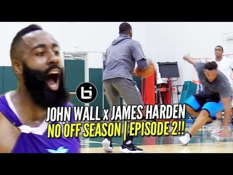 John Wall ALL ACCESS at Miami Pro League with James Harden! | NO OFF SEASON | episode 2