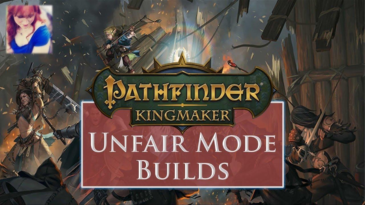 Pathfinder: Kingmaker Unfair Mode Spell DC Builds