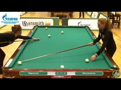 6 Миронова Диана  RUS - RUS  Милованова Ольга