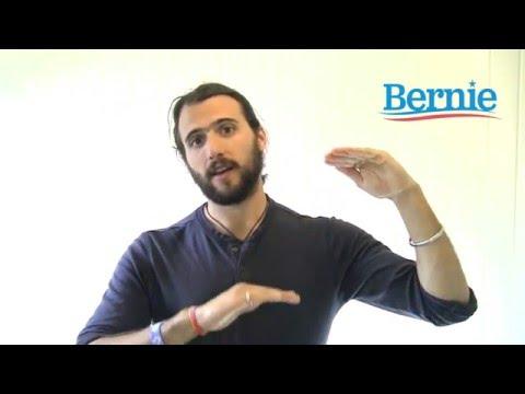 Bernie Sanders - Canvassing 101 in California