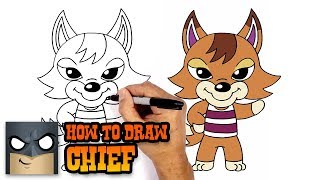 How to Draw Chief | Animal Crossing