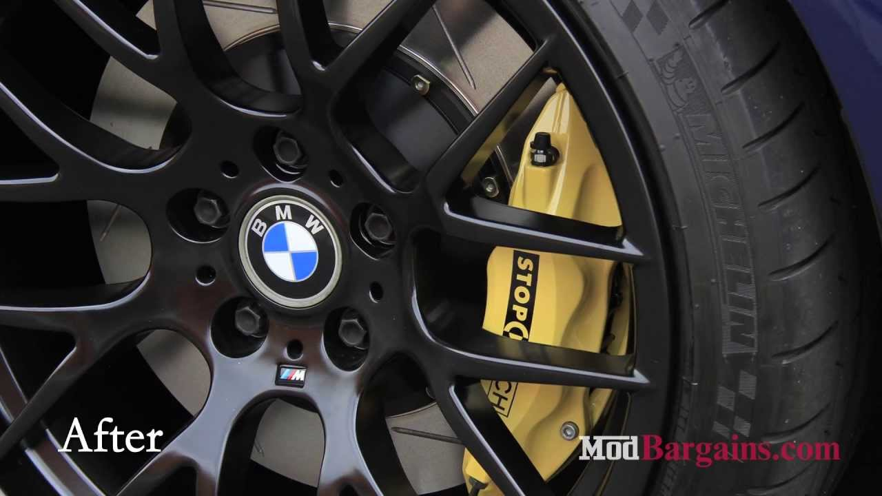 2004 Bmw E46 M3 Gets Stoptech Big Brake Kit And Avant Garde Rims Installed At Modbargains Youtube