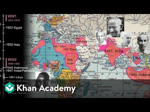 Independence movements in the 20th Century | World History | Khan Academy