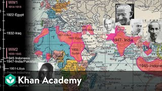 Anti-colonial independence movement in places like India, Algeria, ...