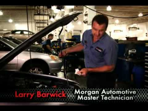 Master Tech Auto >> Morgan Auto Group Master Tech Tips How To Check Your Engine Oil
