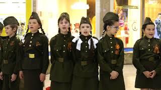 Фото Флешмоб. Песня Катюша в торговом центре КатюшаЯРоссия флешмоб. 6 мая 2018 г.