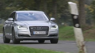 2015 Audi A8 TFSI quattro On The Road