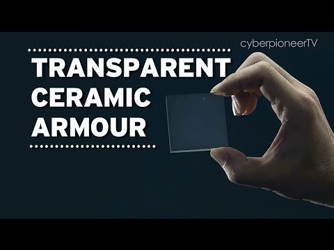 Engineering Our Defence - Build Me Something Better: Transparent Ceramic Armour