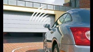 видео Гаражные ворота – защита автомобиля и украшение гаража