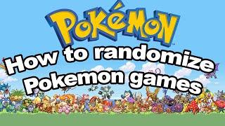 How To Randomize Pokemon Ultra Sun And Moon Homebrew