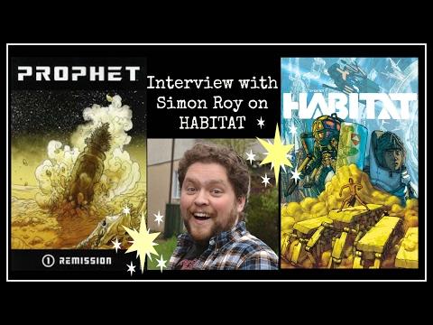 Interview with Simon Roy on HABITAT, IMAGE COMICS, ISLAND