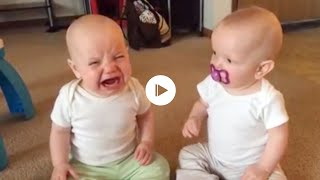 Two baby #funny #fighting video 2018