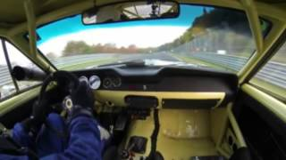 1968 Ford Mustang 302 Trans Am On Nordschleife @ Adac Westfalen Trophy 2015: Fhr Langstreckencup