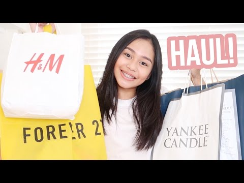 Shopping Haul 2017! (Philippines) + Giveaway | ThatsBella