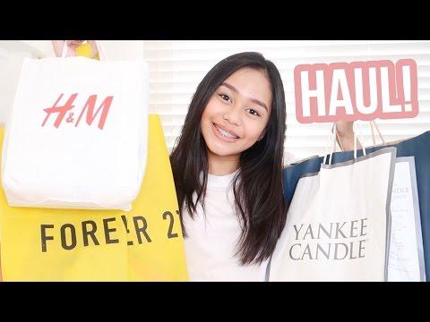 Shopping Haul 2017! (Philippines) + Giveaway | ThatsBella