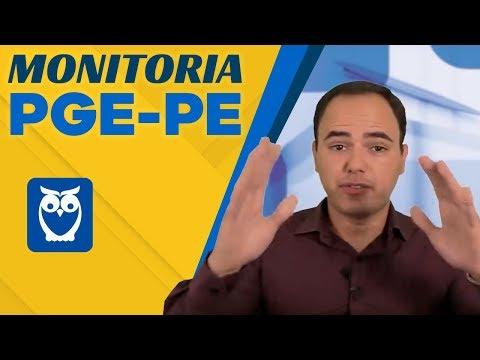 Monitoria PGE-PE