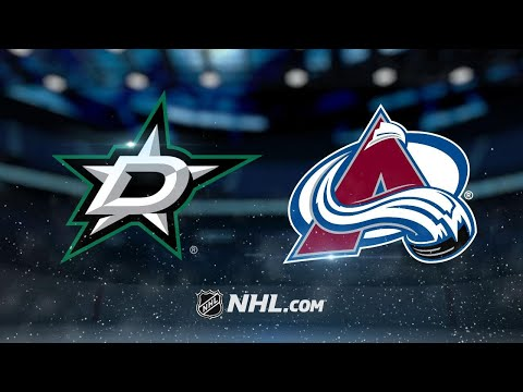 Bernier, MacKinnon lead Avs to 3-0 win against Stars