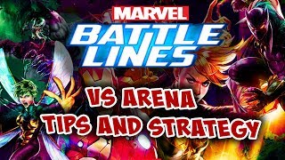 Marvel Battle Lines - VS Arena: Deck Tips and Strategies