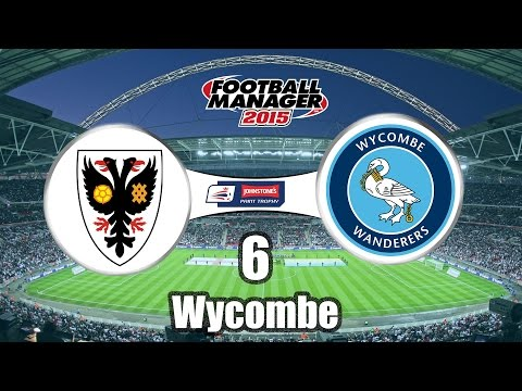 AFC Wimbledon - Ep 6 Wycombe - Football Manager 2015
