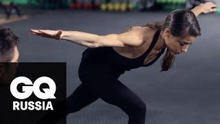Бой  с весом: тренировка на равновесие