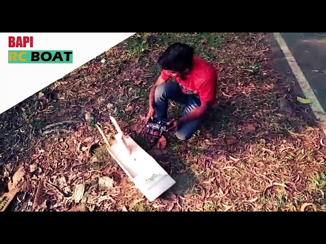 RC Airboat Home made
