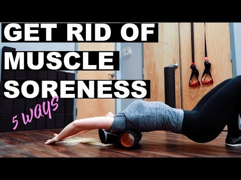 Thumbnail: HOW TO RECOVER FROM or PREVENT SORE MUSCLES! | 5 TIPS