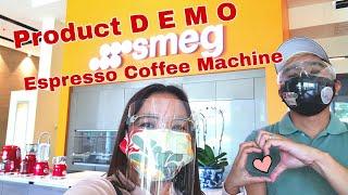 SMEG Espresso Coffee Machine D…