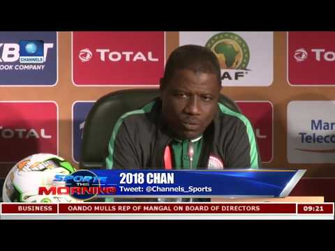 Nigeria, E/Guinea Coaches Confident Of Victory In Group Final Game  Sports This Morning 