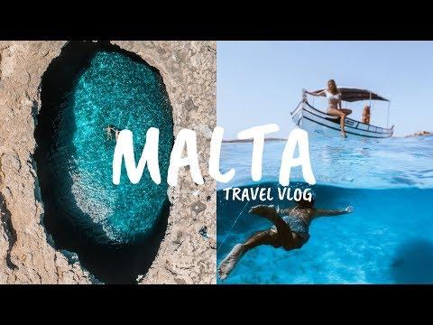 The Bluest Water We've Ever Seen   Summer Malta Travel Vlog