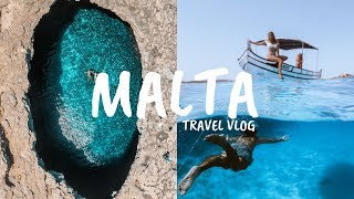 The Bluest Water We've Ever Seen | Summer Malta Travel Vlog
