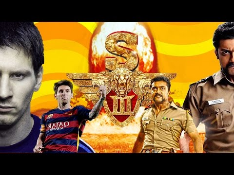 SINGAM 3 Teaser MESSI VERSION