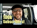 100k Subscribers: THANK YOU! Let's party in person!