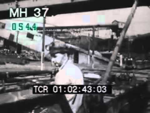1950 and 1960 industrial jobs part 4 -- Stock Footage