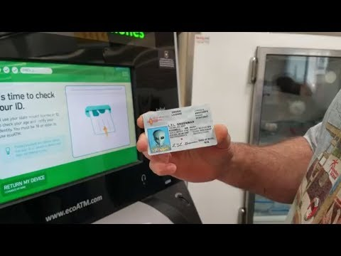 SELLING MY SAMSUNG GALAXY S5 TO THE ECO ATM MACHINE USING A FAKE ID!