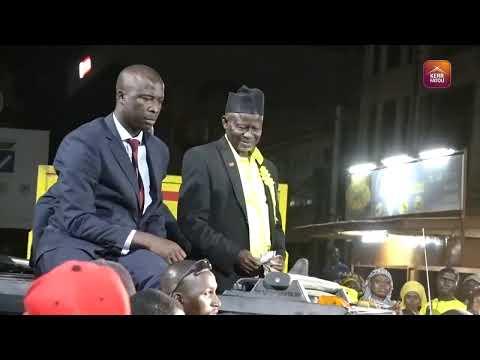 Welcoming of the UDP Party Leader Hon Ousainou Darboe