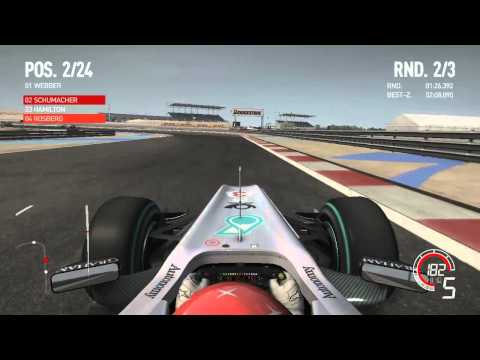 F1 2010 - Bahrain Race [HD]