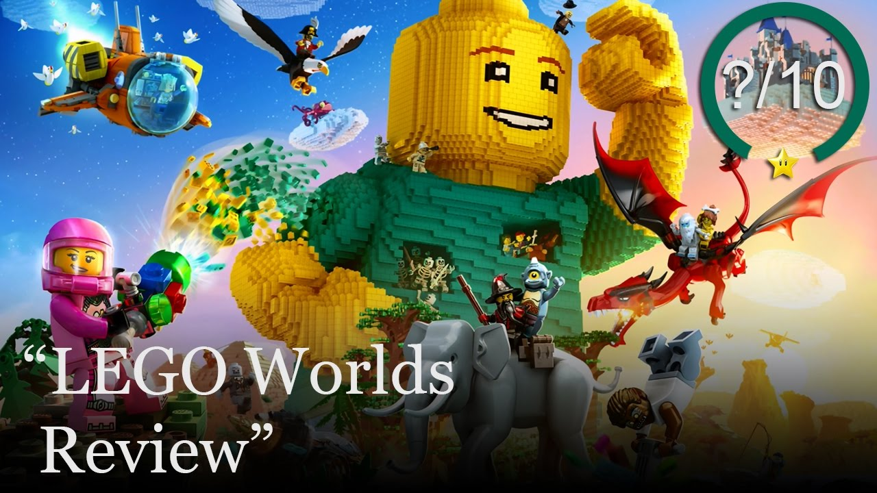 lego worlds review ps4 switch xbox one pc youtube. Black Bedroom Furniture Sets. Home Design Ideas