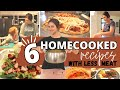 Cooking in a Construction Zone! + Trying to Use Less Meat   Quarantine Cook #withme