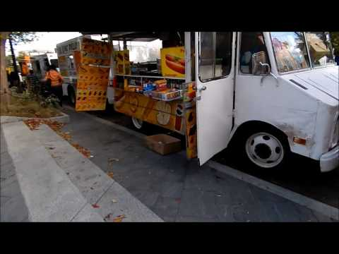 Food Vendor Carts on Street Corners in Washington DC 20560